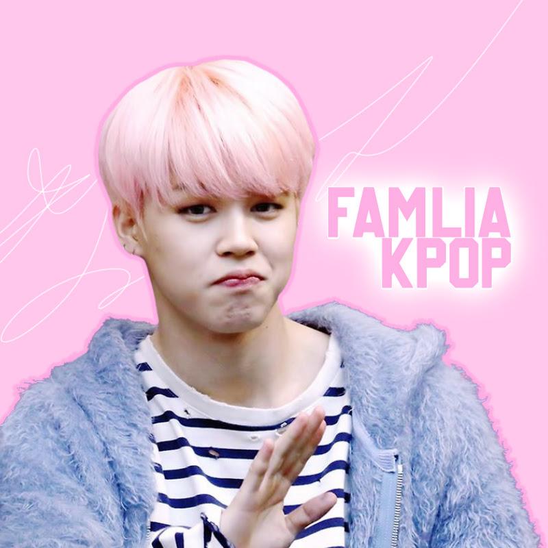 Logo for família k-pop