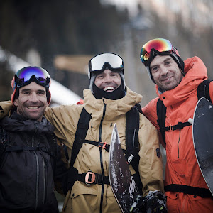 Chamonix snowboarding