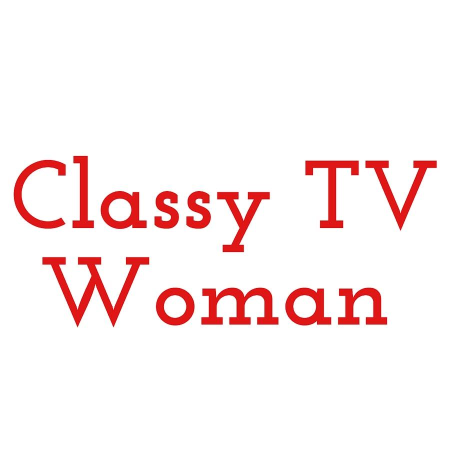 Classy TV Woman