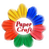 How to make simple easy paper cutting flowers paper flowers paper craft mightylinksfo Choice Image