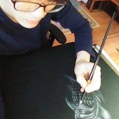 괴물도감 (drawing creature,figure custom)