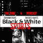 Black and White Sports Avatar