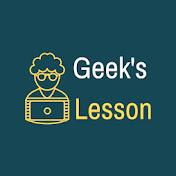 Geek's Lesson