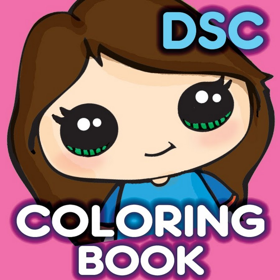 Draw So Cute Coloring Book - YouTube